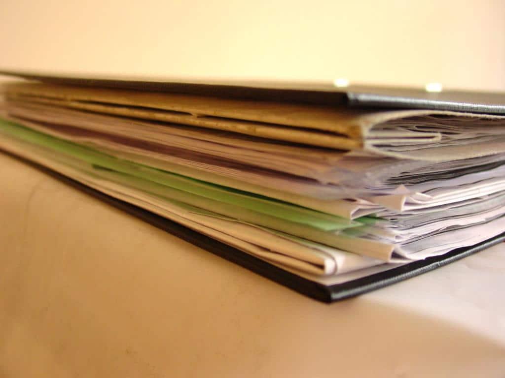 Действия по сбору документов