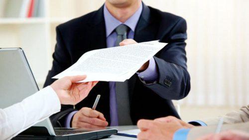Пакет бумаг, необходимых для государственной регистрации права
