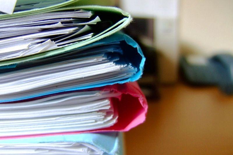 Набор документов для оформления